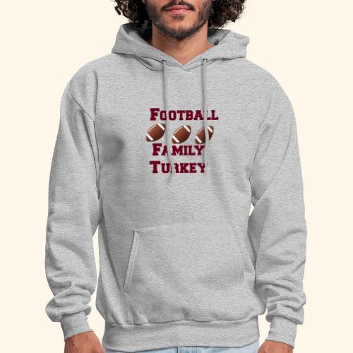 FOOTBALL FAMILY TURKEY TEE - Men's Hoodie