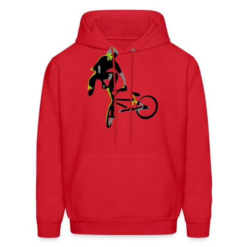 bmx tailwhip t shirt design on highball - Men's Hoodie