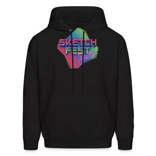 SketchFest2016 Tshirt 2500x2500 png - Men's Hoodie