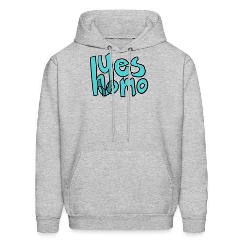 Yes Homo (Solid) - Men's Hoodie