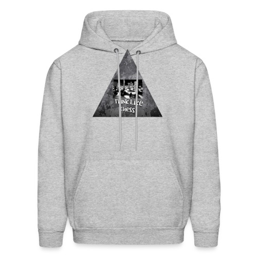 Think Like Chess Logo - Men's Hoodie