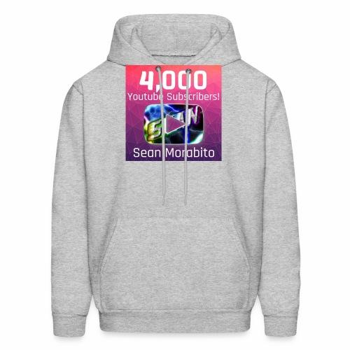 4000 Subs edited - Men's Hoodie
