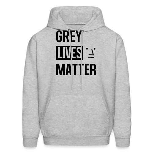 Grey Lives Matter - Men's Hoodie