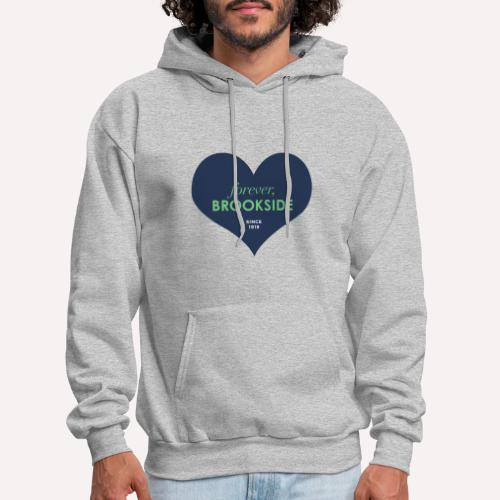 Forever Brookside Navy with Mint - Men's Hoodie