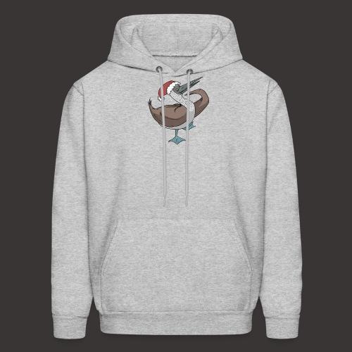 Boobie Bird Xmas Dance - Men's Hoodie