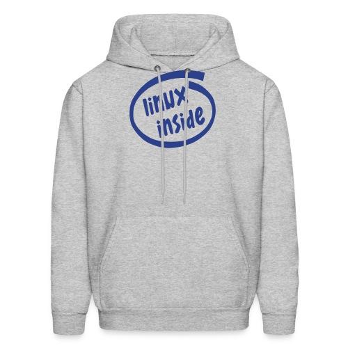 linux inside - Men's Hoodie