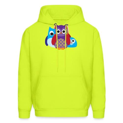 Cute Owls Eyes - Men's Hoodie