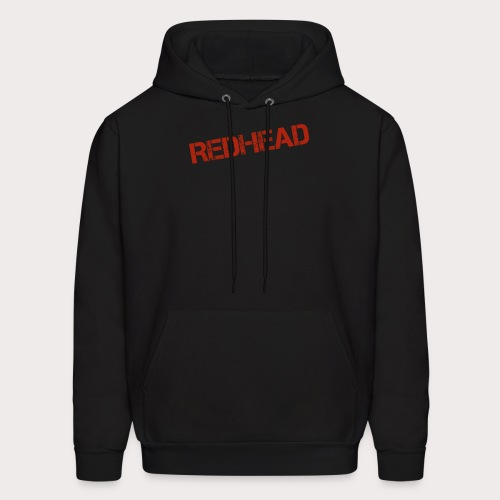 RED HEAD FILE - Men's Hoodie