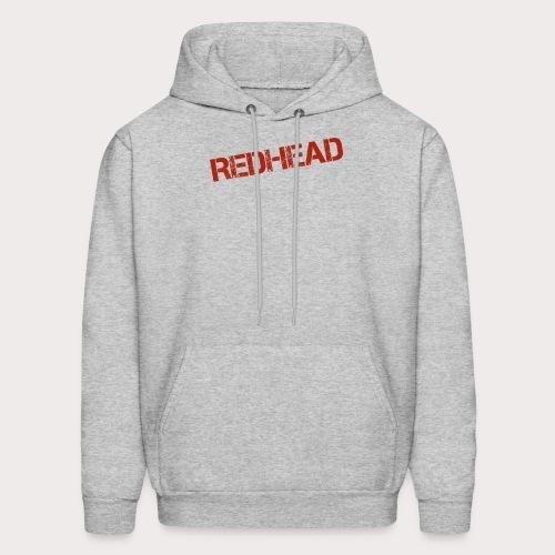 RED HEAD FILE - Men's Hoodie