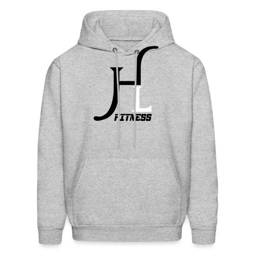 HIIT Life Fitness logo white - Men's Hoodie