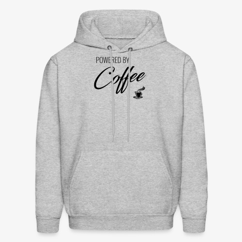 Powered by Coffee - Men's Hoodie