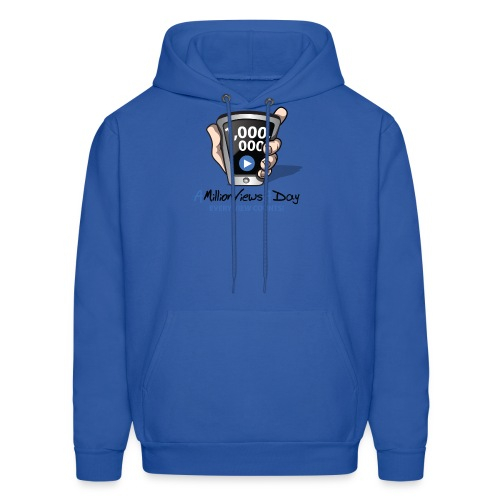 AMillionViewsADay - every view counts! - Men's Hoodie