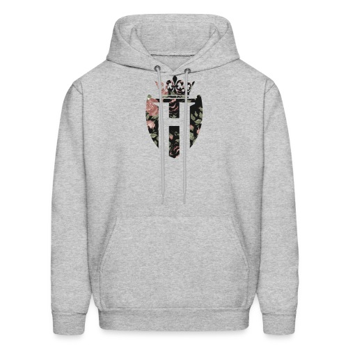 Horizon Grey H Shield Jumper - Men's Hoodie