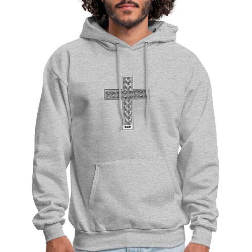 Jesus cross. I'm no longer a slave to fear. - Men's Hoodie