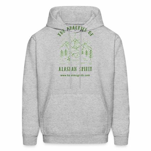 Alaskan Spirit green - Men's Hoodie
