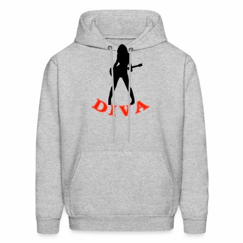Rock Star Diva - Men's Hoodie