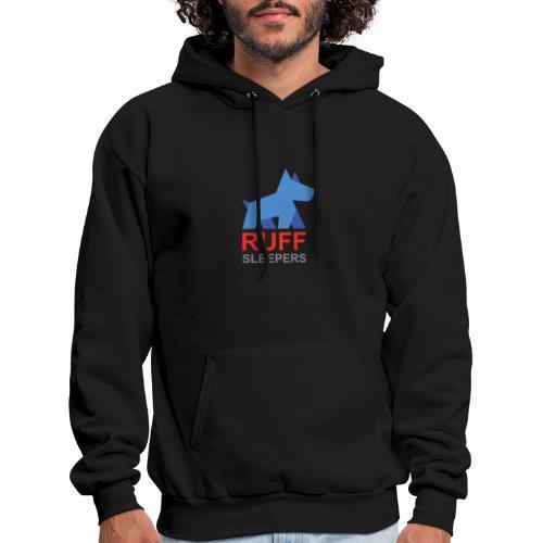 ruffsleepers logo 01 - Men's Hoodie