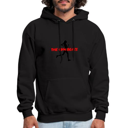 THE GYM BEATS - Music for Sports - Men's Hoodie