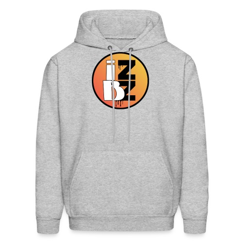 IZBZ Circle Logo - Men's Hoodie
