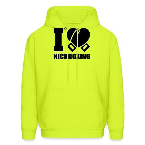 I Love Kickboxing - Men's Hoodie