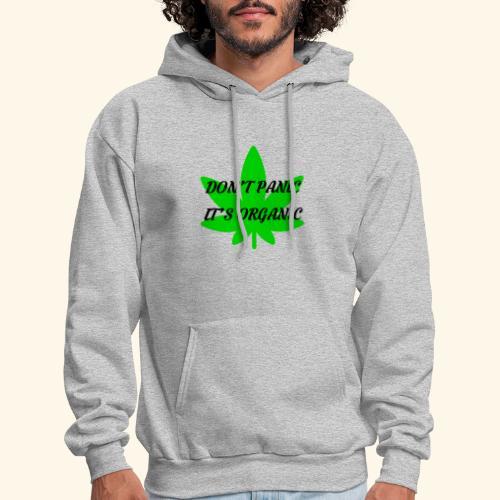 Don't Panic it's organic - tshirt/hoodie/sweater - Men's Hoodie