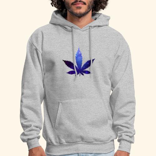 Cannabis Leaf - Galaxy - Weed - Men's Hoodie