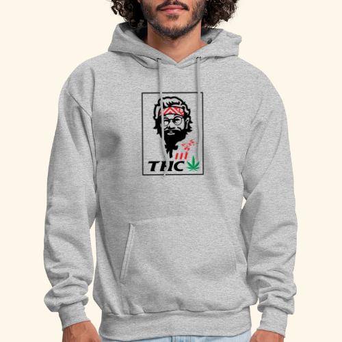 THC MEN - THC SHIRT - FUNNY - Men's Hoodie