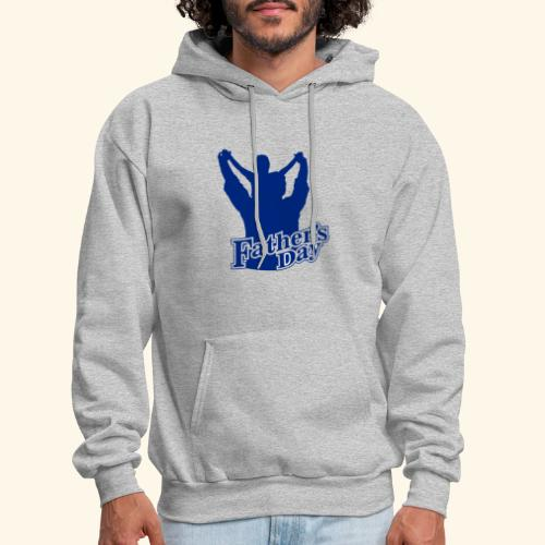 Fathers Day Child And Father Design - Men's Hoodie