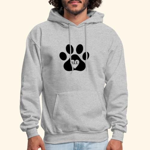 Dog Paw B.F.F. Design - Men's Hoodie