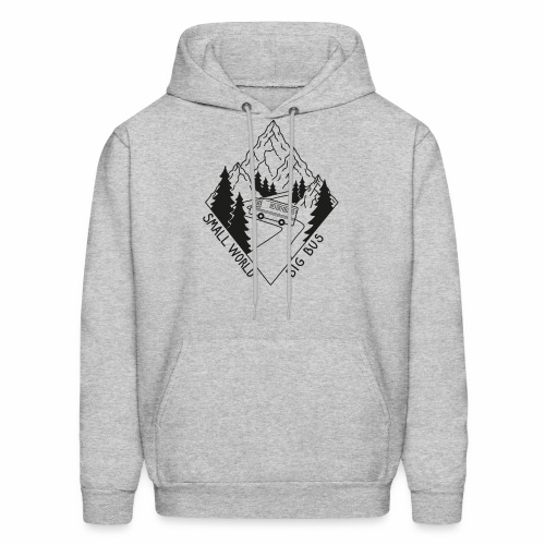 SWBB Black and White Mountain Road - Men's Hoodie