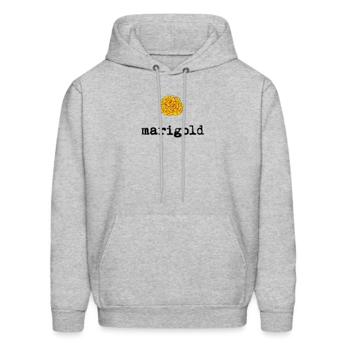 Marigold (black text) - Men's Hoodie