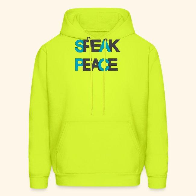 SPEAK PEACE BLUE/GREY #5