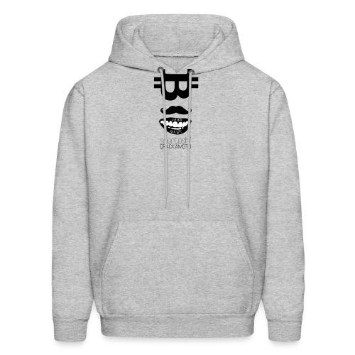 Bitcoin Tshirt - Snortoshi Crackamoto - Men's Hoodie