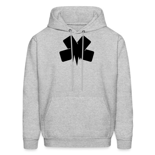 PixelSashay - Black Logo - Men's Hoodie
