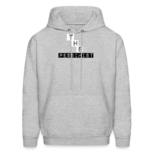 The Pessimist Abstract Design - Men's Hoodie