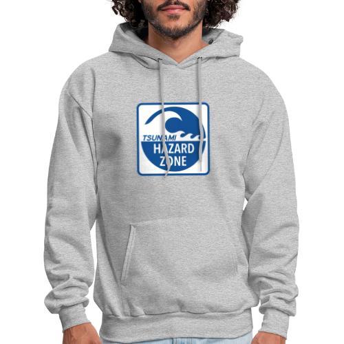 Tsunami Hazard Zone - Men's Hoodie