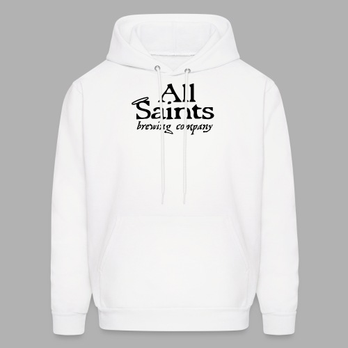 All Saints Logo Black - Men's Hoodie
