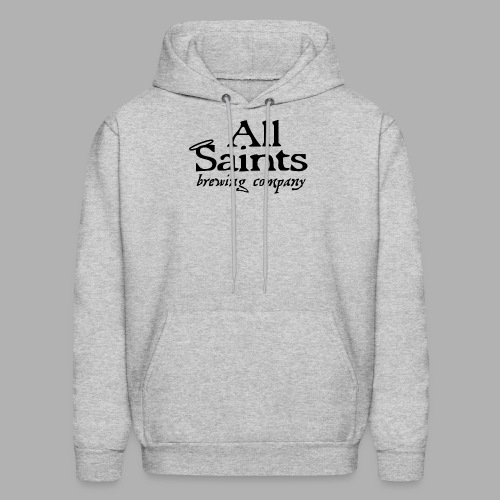 All Saints Logo Black - Men's Hoodie
