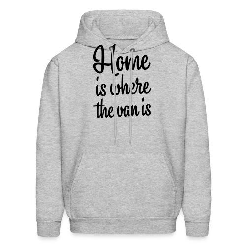 Home is where the van is - Autonaut.com - Men's Hoodie