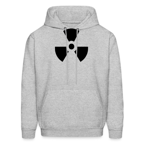 Radiation Symbol - Men's Hoodie