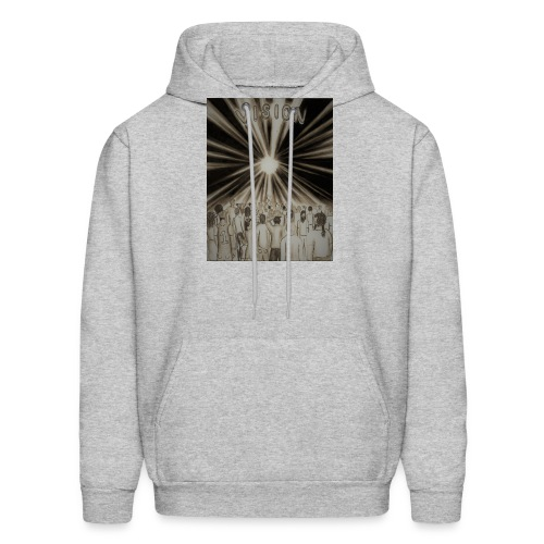 Black_and_White_Vision2 - Men's Hoodie