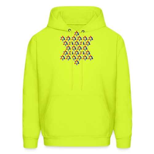 Gay Jewish Stars Star - Men's Hoodie