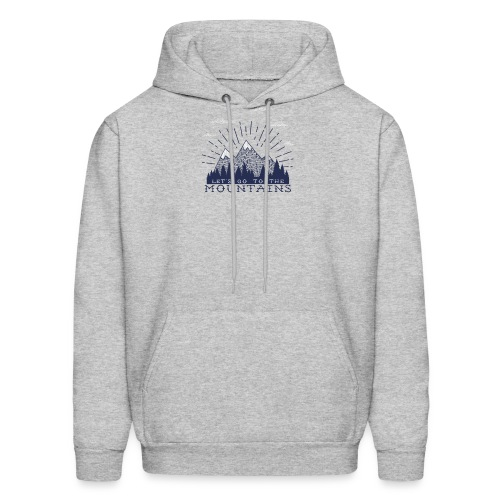 Adventure Mountains T-shirts and Products - Men's Hoodie
