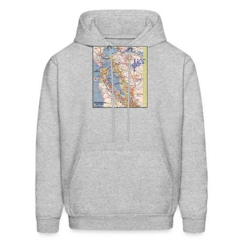 Phillips 66 Zodiac Killer Map June 26 - Men's Hoodie