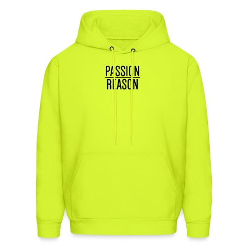 Passion Over Reason - Men's Hoodie