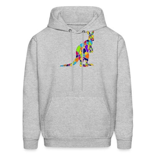 Art Deco kangaroo - Men's Hoodie