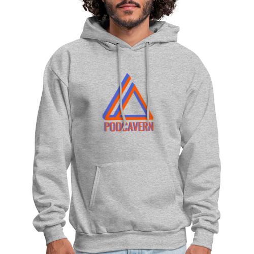 PodCavern Logo - Men's Hoodie