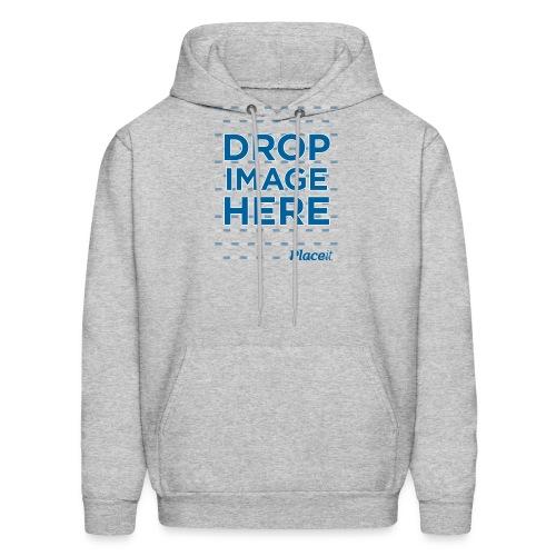 DROP IMAGE HERE - Placeit Design - Men's Hoodie