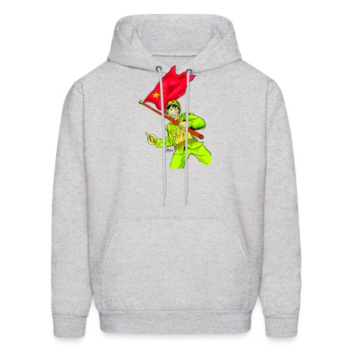 Chinese Soldier With Grenade - Men's Hoodie