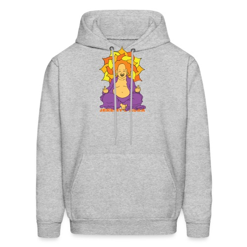Laughing At You Buddha - Men's Hoodie
